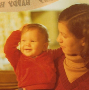 This picture of Dan and his mom was taken when the future astronomer was just 5 months old.