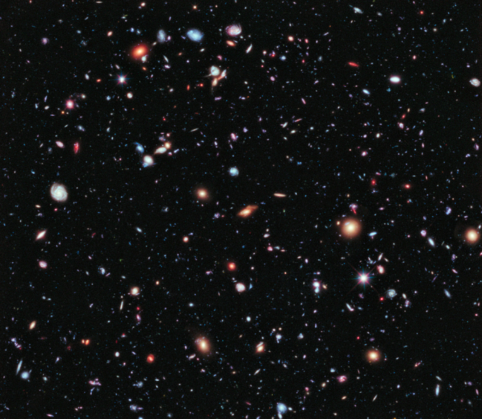 The eXtreme Deep Field, or XDF.